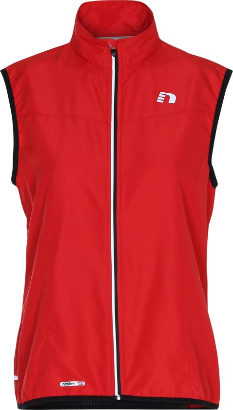 Newline Base Tech Vest 13247-44 - Hardloopjas - Dames - Red - Maat L