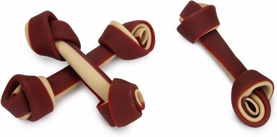 Beeztees Chew'N Snack Duetto Kip Kaas - Hondensnack - M - 11 cm
