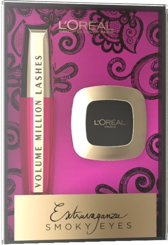 L'Oréal Paris Extravaganza Smoky Eyes Giftset - Make-up Geschenkverpakking
