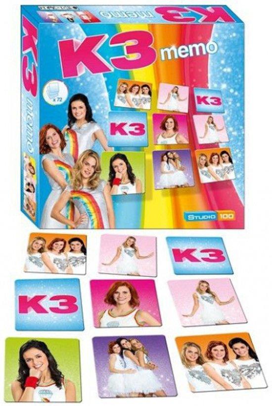 K3 Memorie spel