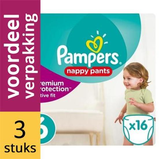 5648342d055 bol.com | Pampers Active Fit Pants Maat 6 Luiers - 3 x 16 stuks