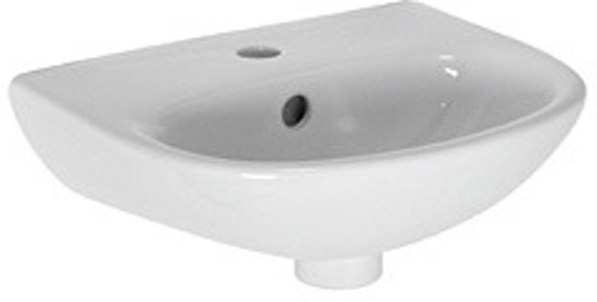 Zwarte wasbak toilet elegant wasbak voor wc badkamermeubels