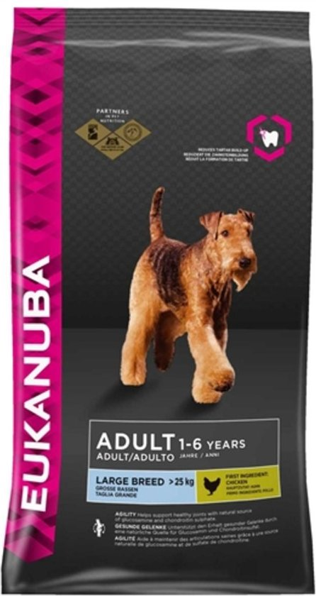Eukanuba Dog Adult - Large Breed - Hondenvoer - 2 x 12 kg