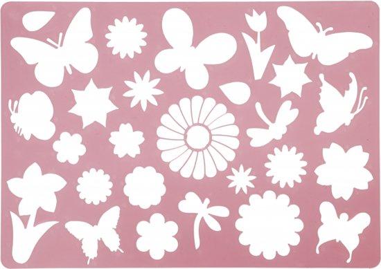 Teken sjabloon vlinders