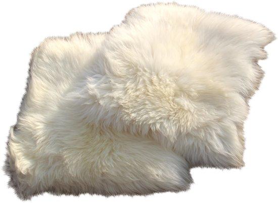 Bol schapenvacht kussen hoes ecologisch verantwoord cm