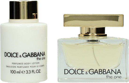 Dolce & Gabbana The One Giftset EDP 50 ml + Bodylotion 100 ml