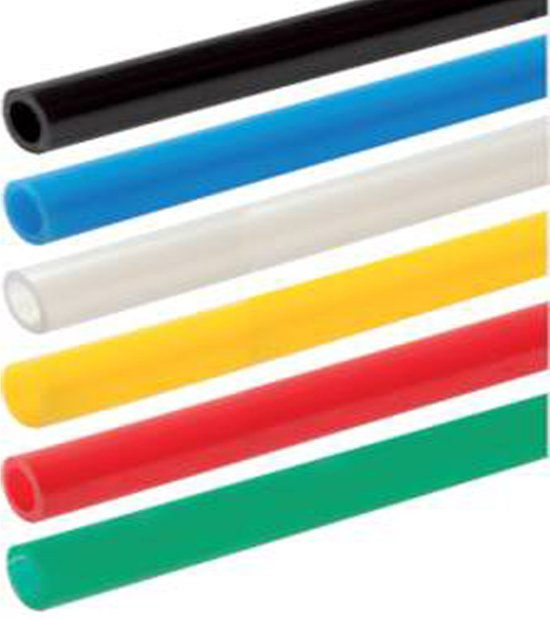 PA pneumatiekslang 2x4 mm 3 m Geel - HL-PA-YEL-2x4-3