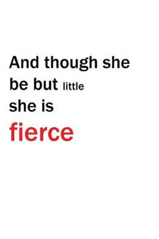 Bolcom And Though She Be But Little She Is Fierce Journal Im