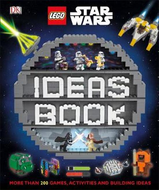 Boek cover LEGO Star Wars Ideas Book van Dk (Hardcover)
