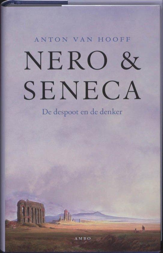 Boek cover Nero en Seneca van Anton van Hooff (Hardcover)