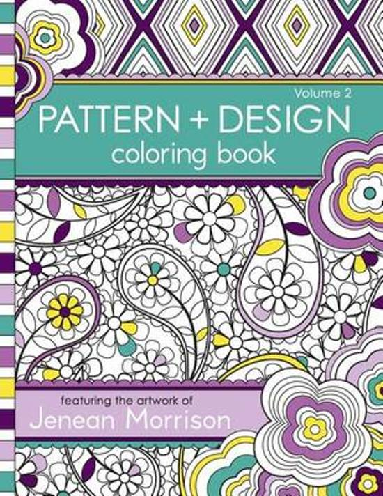 bol.com | Pattern and Design Coloring Book, Volume 2 | 9780615810966 ...