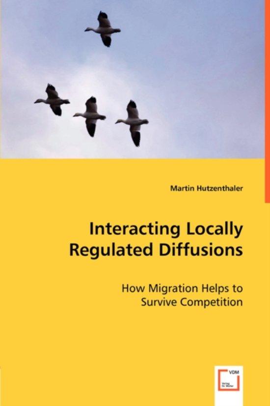 Interacting Locally Regulated Diffusions