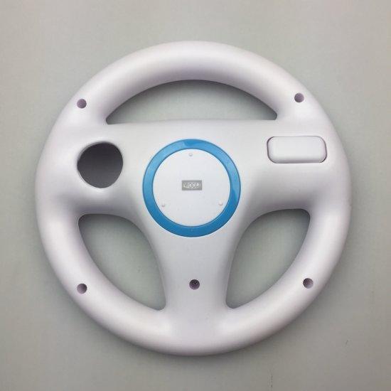 Nintendo Wii & Wii U Controller Race Stuurwiel/Steering Wheel - Wit