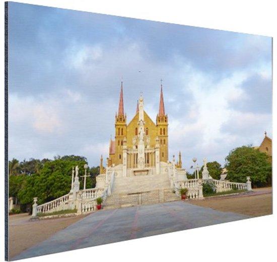 St Patrick kathedraal Aluminium 120x80 cm - Foto print op Aluminium (metaal wanddecoratie)