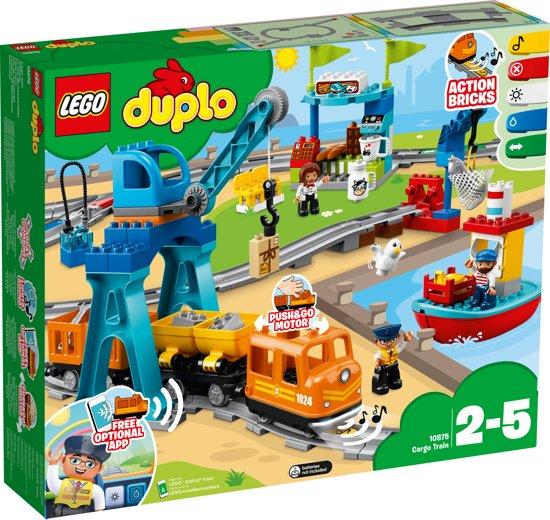 Afbeelding van LEGO DUPLO Goederentrein - 10875 speelgoed