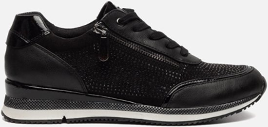 bol.com   Marco Tozzi Sneakers zwart 3a30f50de2