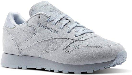 c5da2074687 bol.com | Reebok Sneakers Classic Leather Nbk Dames Grijs Maat 36