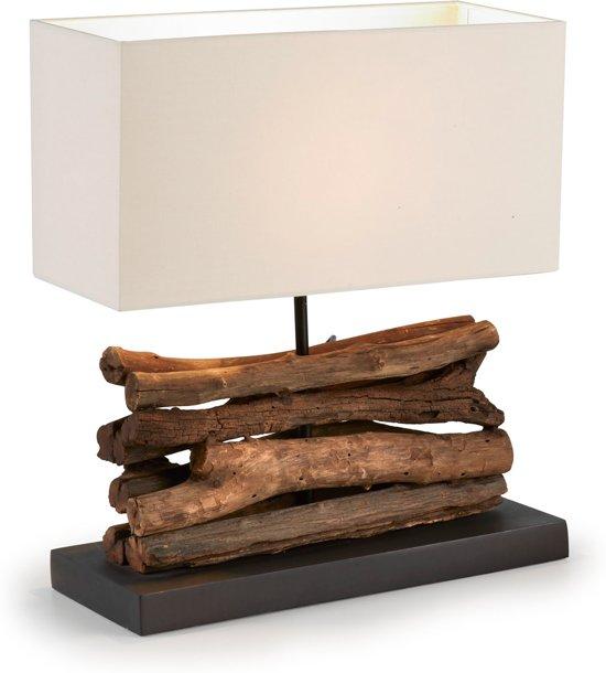 Top bol.com | Kave Home SAHAI - Tafellamp - hout JZ95