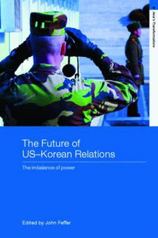 The Future of US-Korean Relations