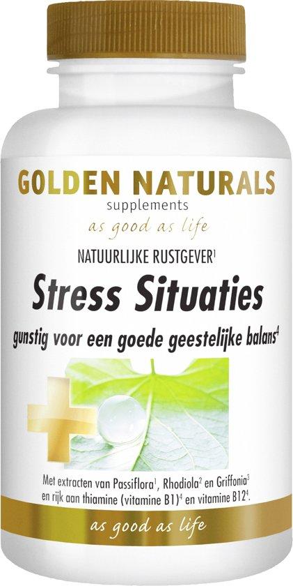 Golden Naturals Stress Situaties (60 capsules)
