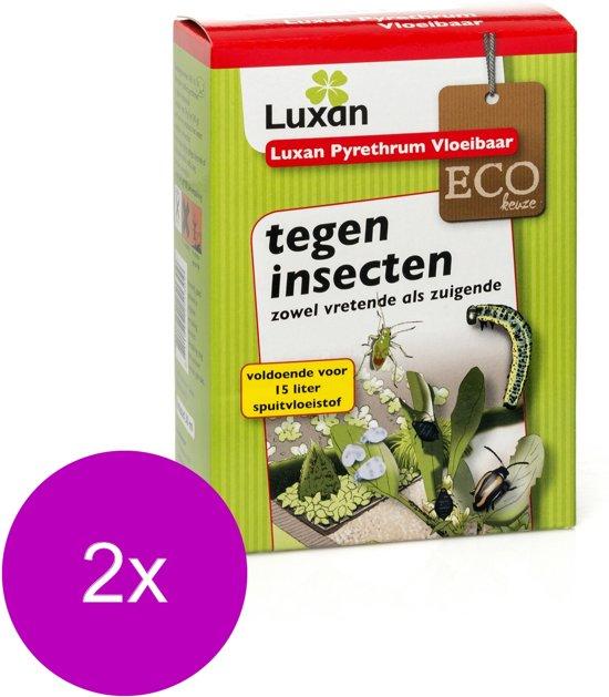 Luxan Pyrethrum Vloeibaar Concentraat - Gewasbescherming - 2 x 30 ml