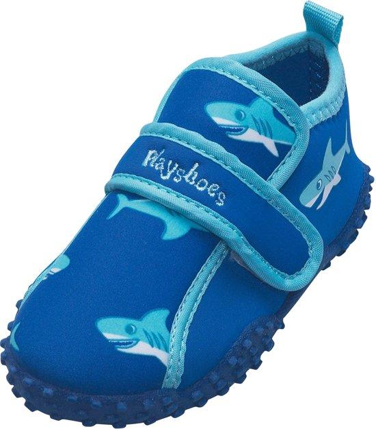 Manches Jouer Chaussures De Plage Uv Requin Enfants - Bleu - Taille 20/21 MZiRg4