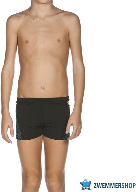 087b149301 bol.com | Arena Zwembroek B Espiral Jr Short black/soft-green