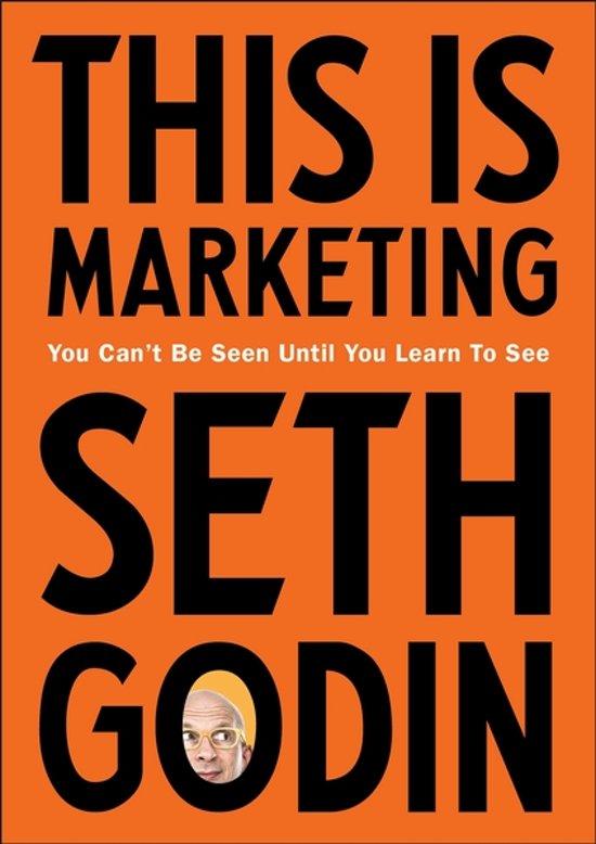 Boek cover This is marketing van Seth Godin (Paperback)