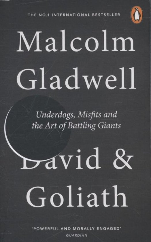 Boek cover David and Goliath van Malcolm Gladwell (Paperback)
