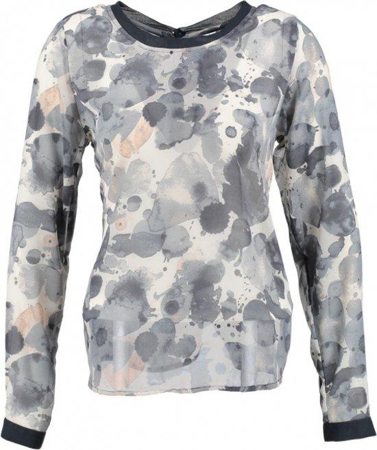 Garcia blouse greyish blue Maat - S