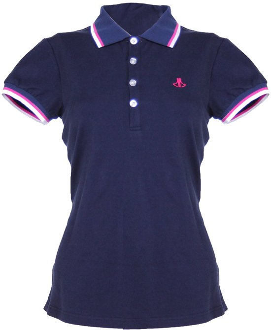 donkerblauw shirt dames