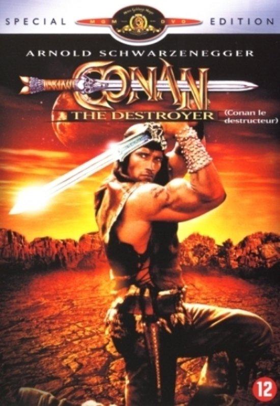 Cover van de film 'Conan The Destroyer'