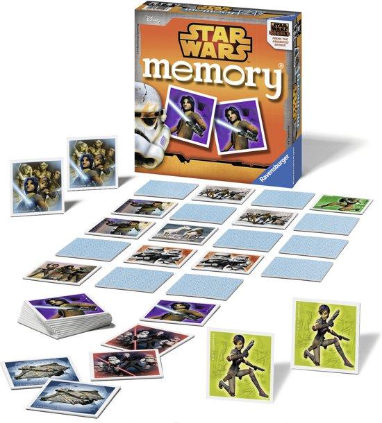 Thumbnail van een extra afbeelding van het spel Star Wars Rebels memory® - Kinderspel