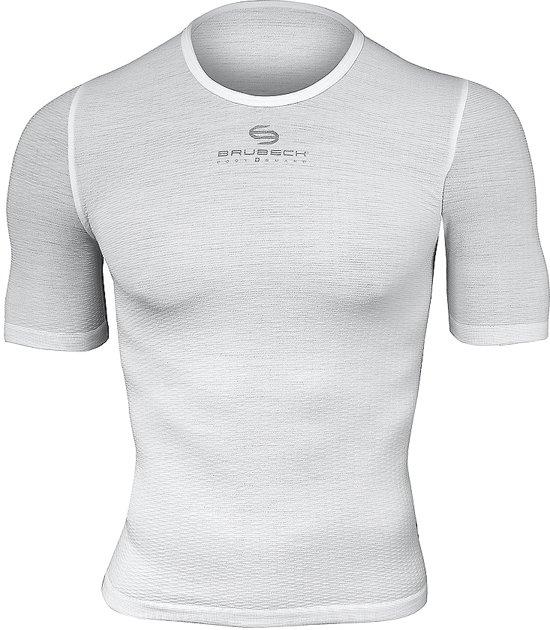 Mouw Sportondergoed 3d Ondershirt wit Brubeck Technologykorte m Met OZuTiPkX