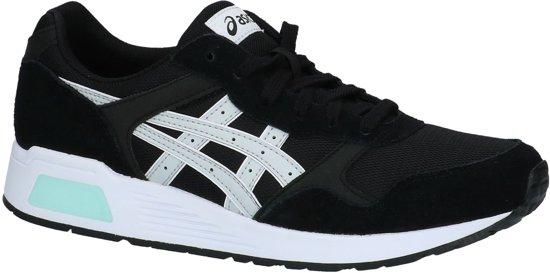 Heren Maat Lyte Zwart Trainer glacier 9096 Grey Sneaker Runner Asics 44 black 7Ix6Xx