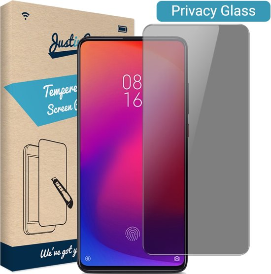 Just in Case Privacy Tempered Glass Xiaomi Redmi K20 Pro Protector - Arc Edges