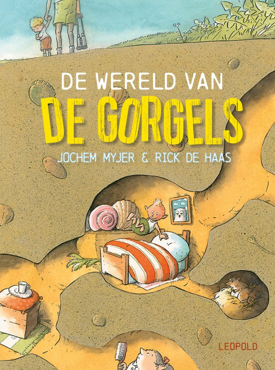 Boek cover De Gorgels - De wereld van de Gorgels van Jochem Myjer (Hardcover)
