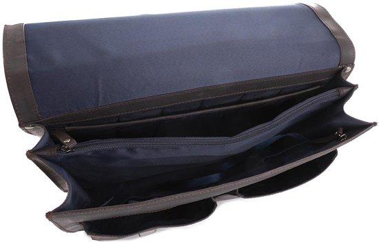 Heyden Dakota Briefcase Brown Compartments 2 Leonhard qH0RFBdqn