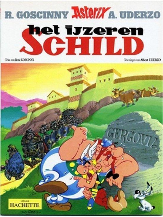 Boek cover Asterix 11 - Het ijzeren en schild van Albert Uderzo (Paperback)