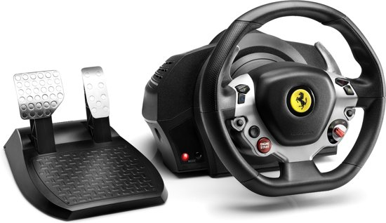 thrustmaster tx racing wheel ferrari 458 italia edition official xbox one. Black Bedroom Furniture Sets. Home Design Ideas