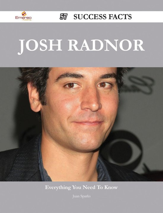 Josh Radnor 57 Success Facts - Everything you need to know about Josh Radnor