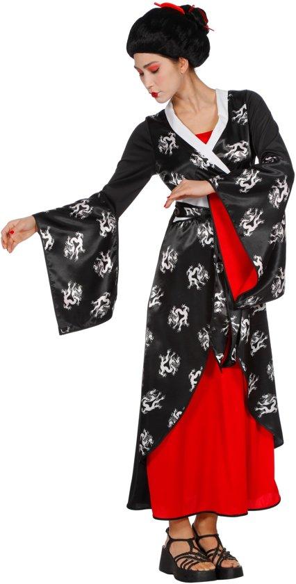 Geisha Kostuum | Aziatische Schone | Vrouw | Maat 40 | Carnaval kostuum | Verkleedkleding