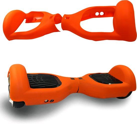 Siliconen beschermhoes, kleurrijke dekking voor 6.5 Inch Hoverboard - Oranje
