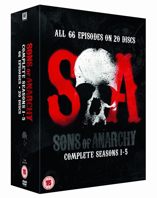 Sons of Anarchy - Season 1-5 (Import)[DVD]