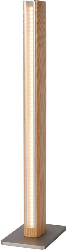 Lucide SYTZE - Tafellamp - LED Dimb. - 1x10W 3000K - Licht hout