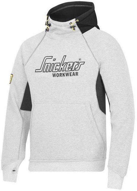 Snickers Workwear Veiligheidskleding Sweatshirt Hoodie grijs - Zwart 2815-1804 M