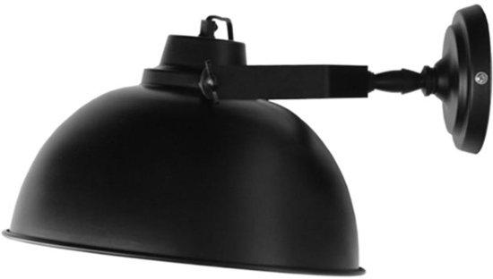 Zwarte Slaapkamer Lamp : Bol label wandlamp urban zwart cm