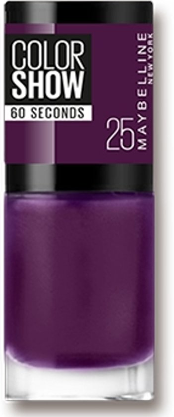 Maybelline Colorshow Plum It Up 25 - nagellak