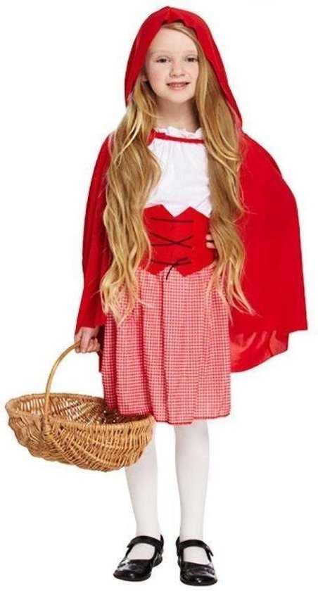 f5d0031f75768a KINDEREN MEISJES 4-delig Schattig RoodKapje Kostuum