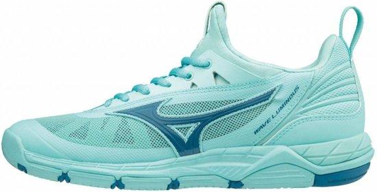 Mizuno Wave Luminous blauw indoor schoenen dames (V1GC182096)